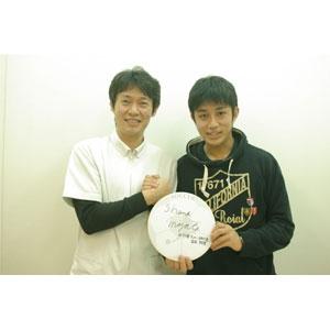 元ろうサッカー日本代表選手 宮田翔実選手がご来院して頂きました。「ろうサッカー」とは聴覚障害者のサッカーです。