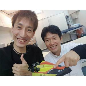 障害者クライミング日本代表の大内秀之選手のトレーナーをしております。